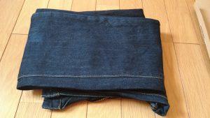 畳まれたジーンズ