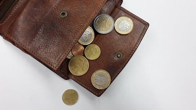 財布の中の小銭