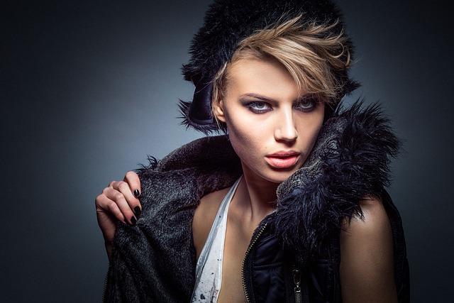 モデルの女性