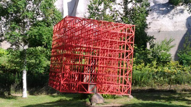 沈黙の森&赤い空の箱