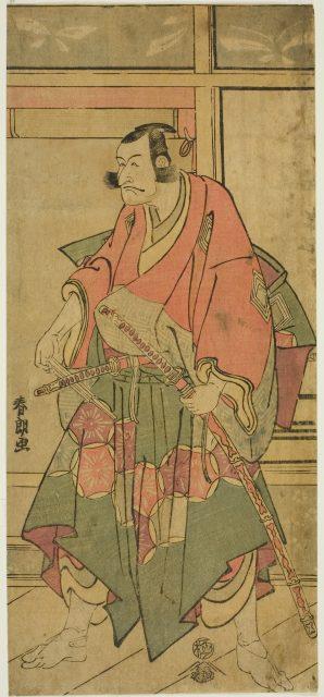 葛飾北斎 「市川団十郎VI」c.1792/93 シカゴ美術館