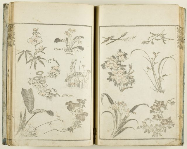 葛飾北斎「北斎漫画」1812/78 シカゴ美術館